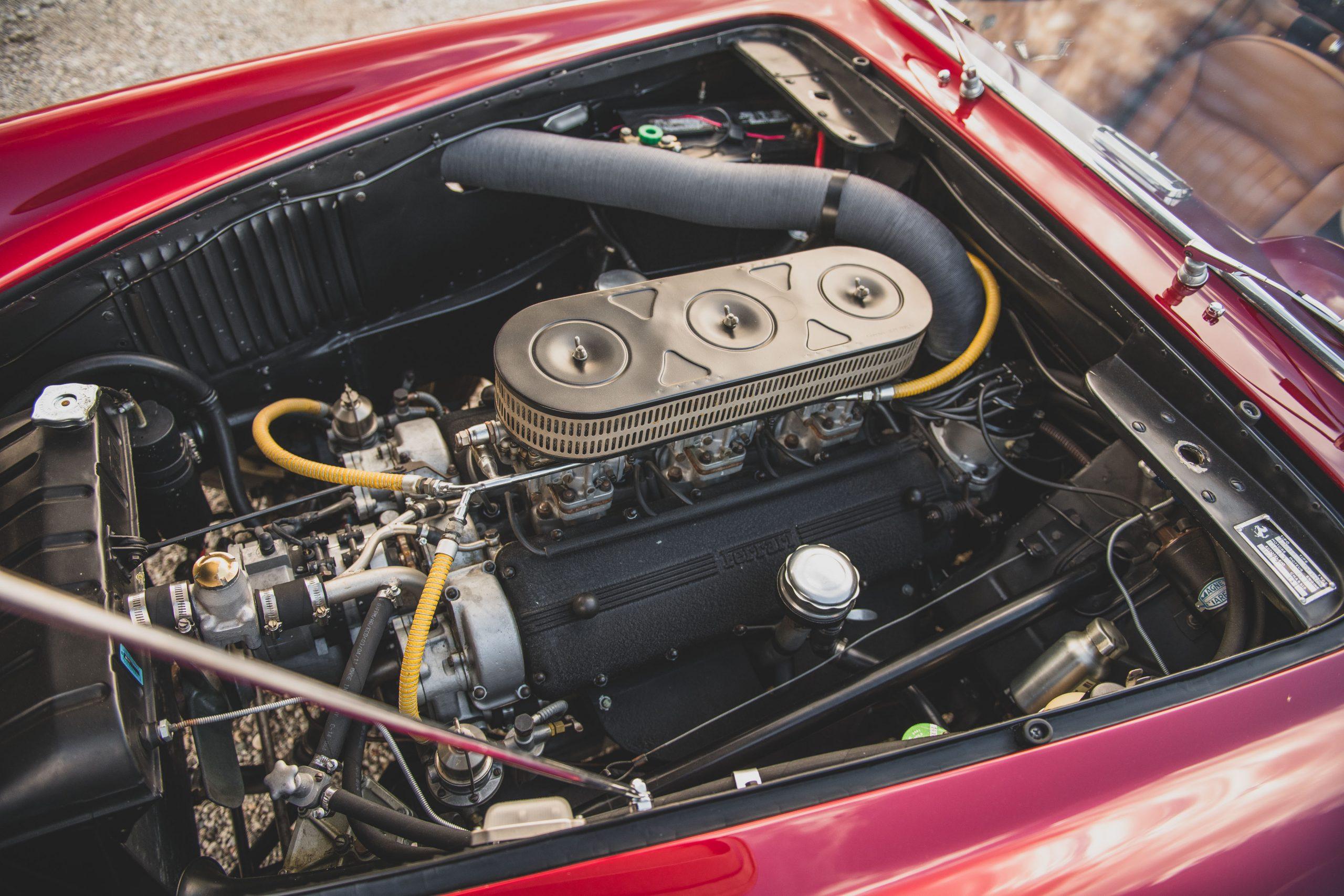 Ferrari 250 GT Alloy Coupe engine