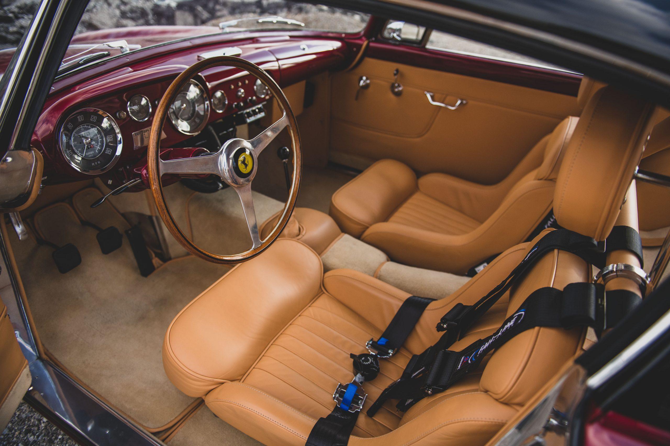 Ferrari 250 GT Alloy Coupe interior