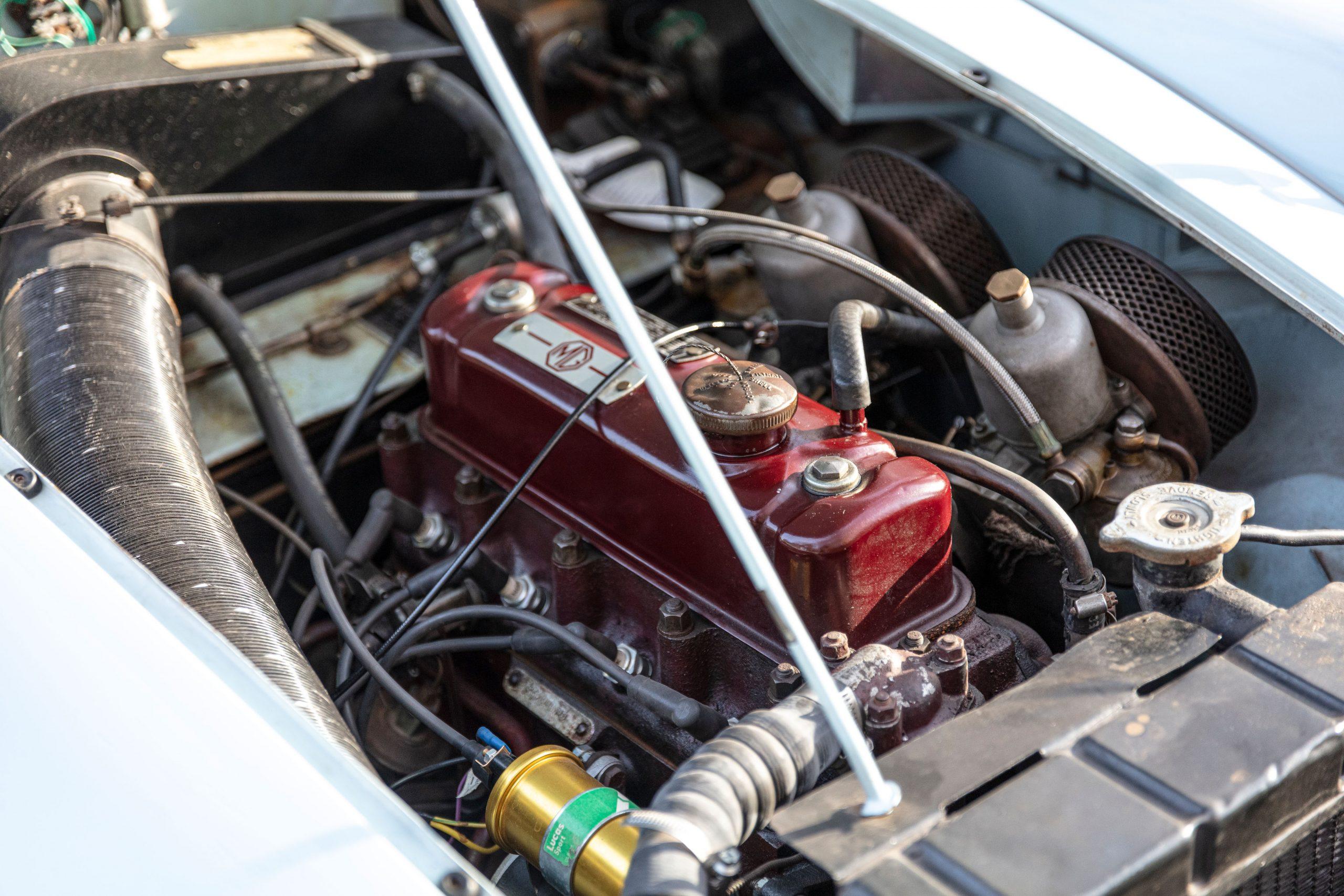 MG MGA 1500 Roadster engine