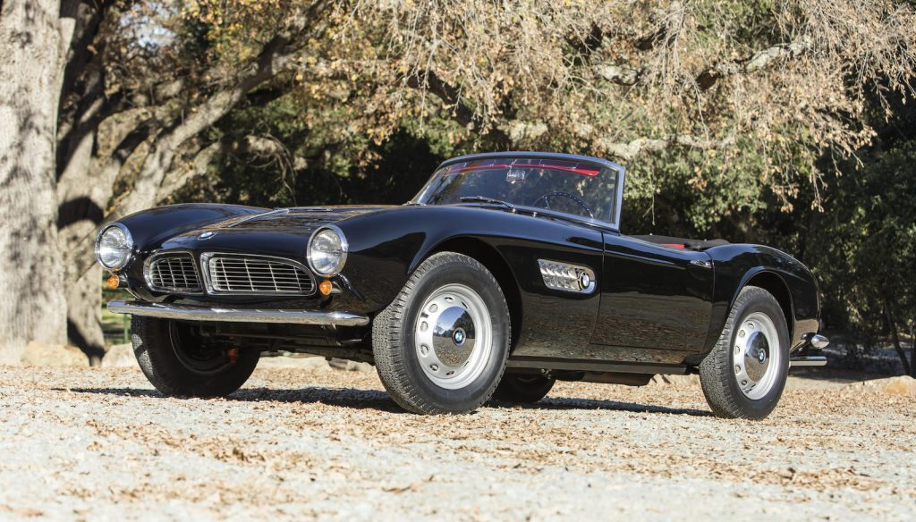 BMW 507 Series II Roadster front three-quarter