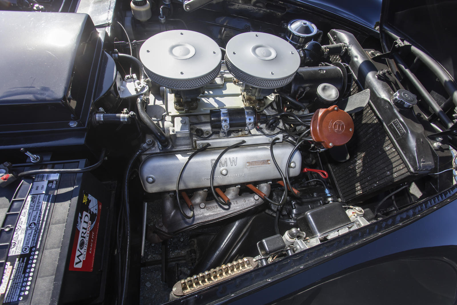 BMW 507 Series II Roadster engine