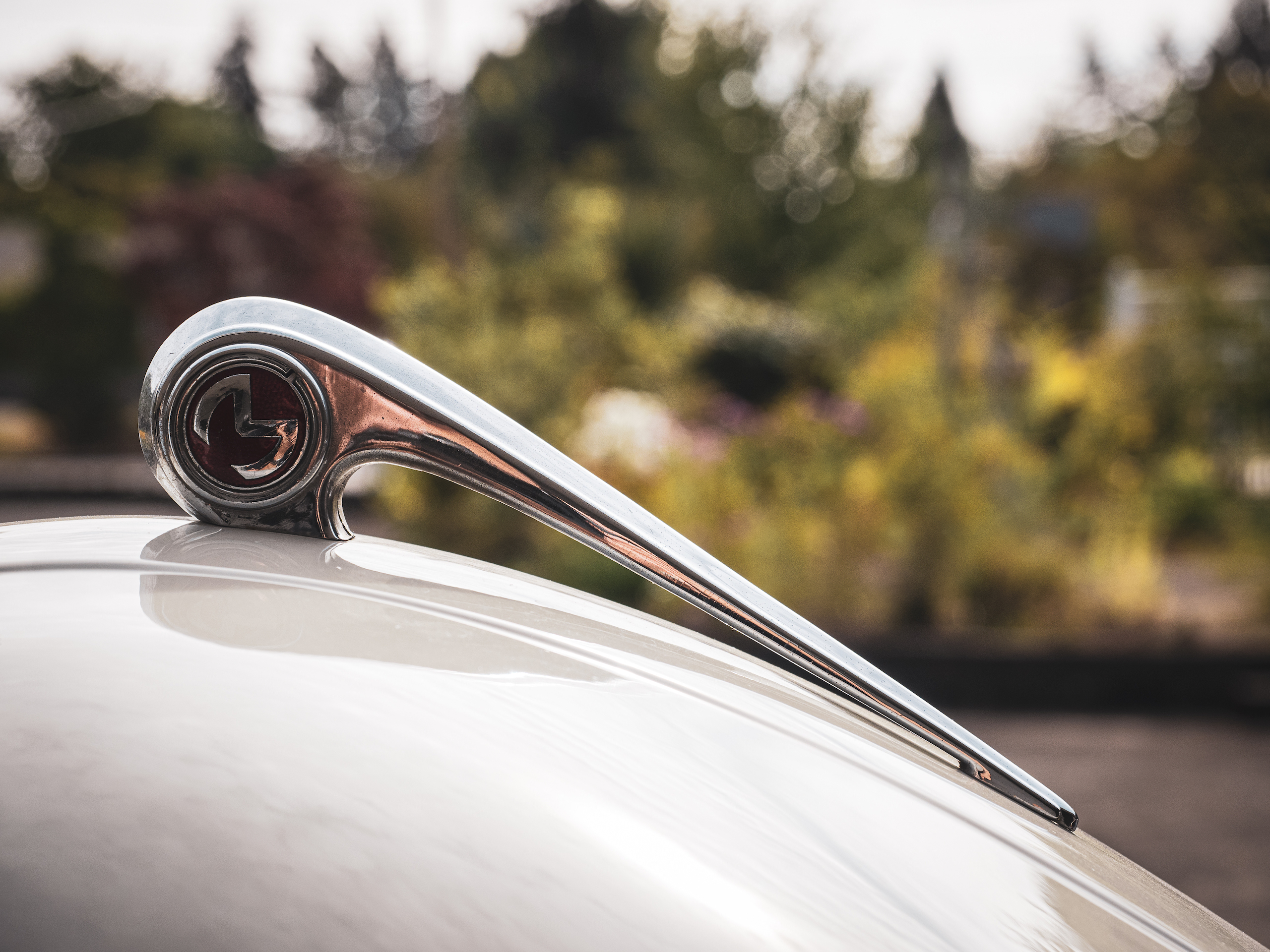 Morris Minor hood ornament