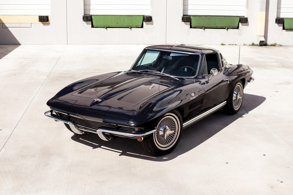 1964 Chevrolet Corvette Sting Ray front three-quarter