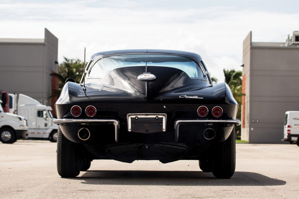 1964 Chevrolet Corvette Sting Ray rear window