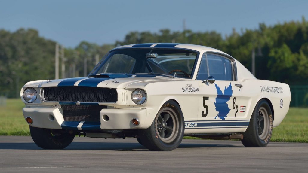 1965 Shelby GT350R Fastback front three-quarter
