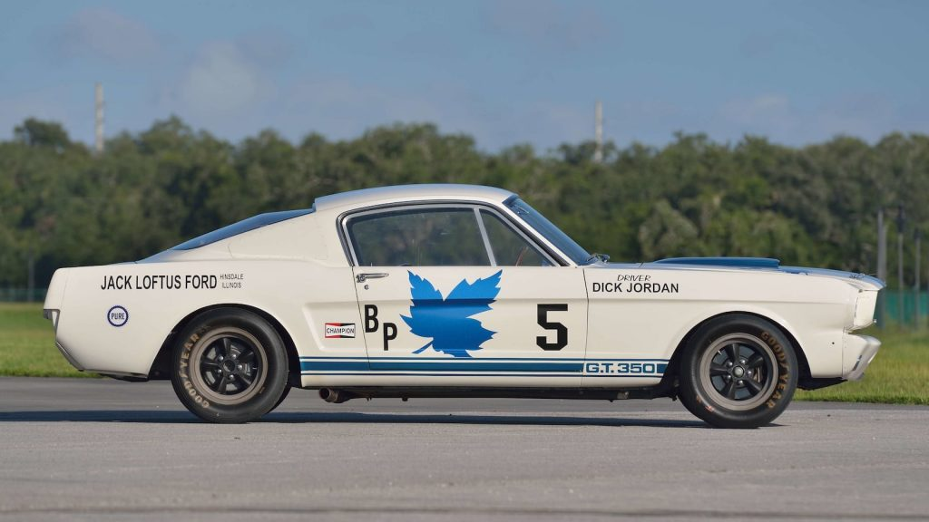Shelby GT350R Fastback side profile