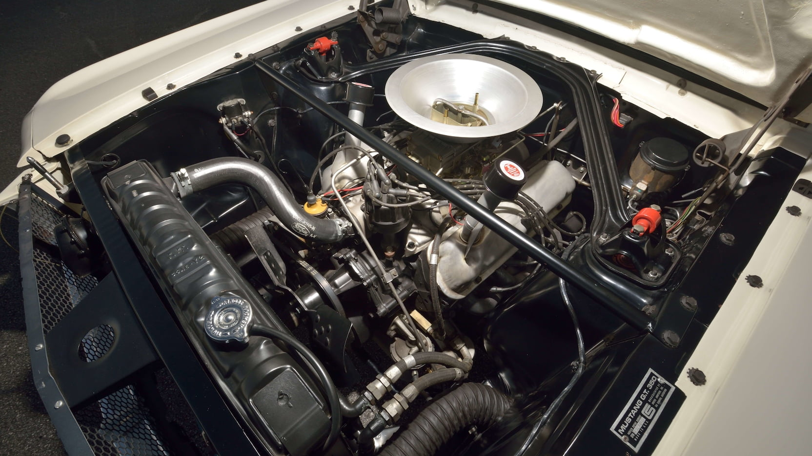 1965 Shelby GT350R Fastback engine