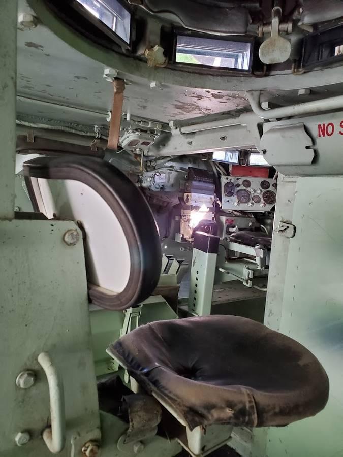 1966 XM734 APC interior turret seat
