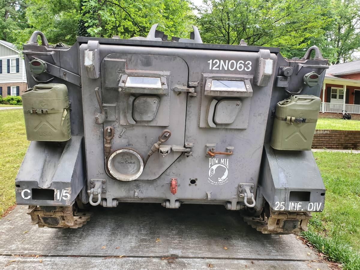 1966 XM734 APC rear