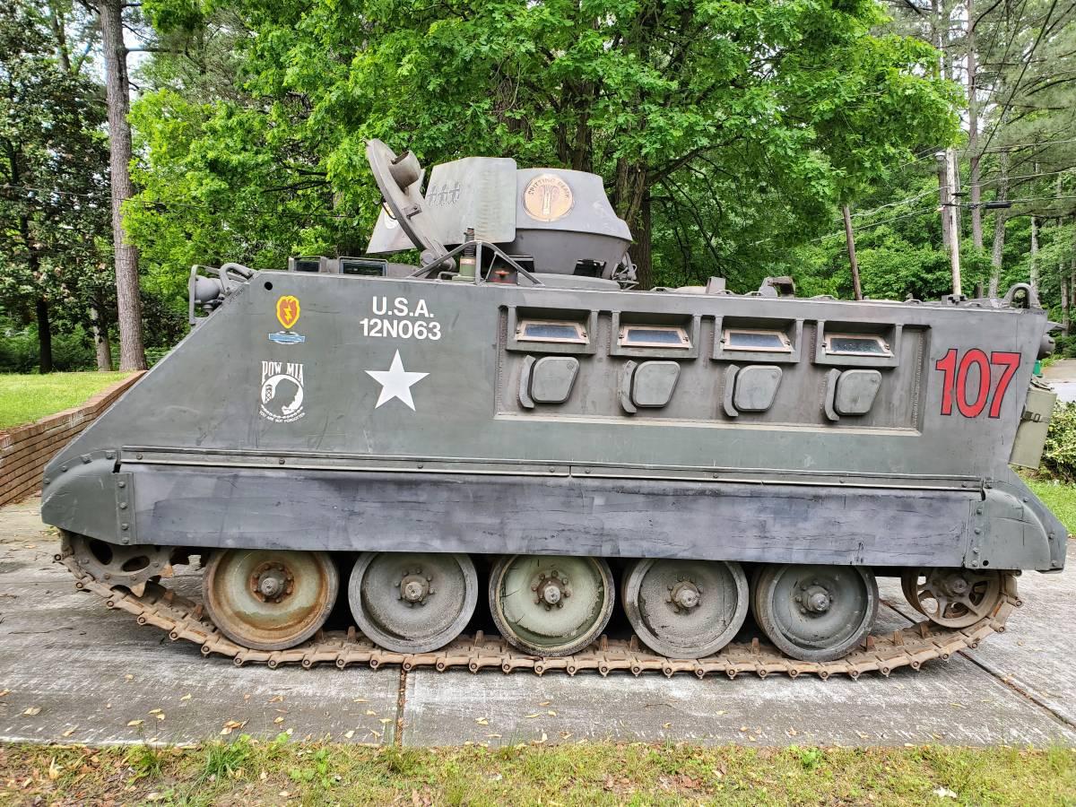 1966 XM734 APC side profile