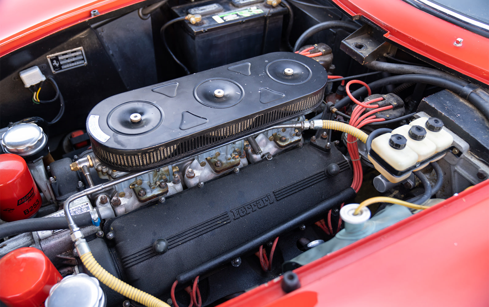 Ferrari 275 GTB Long Nose engine