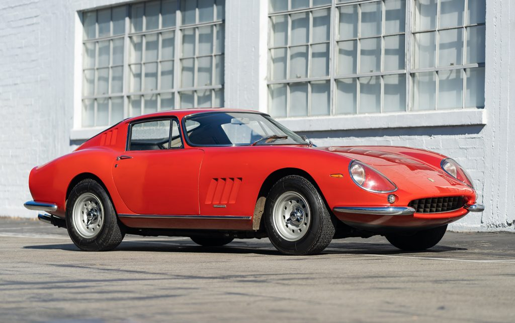 Ferrari 275 GTB Long Nose front three-quarter