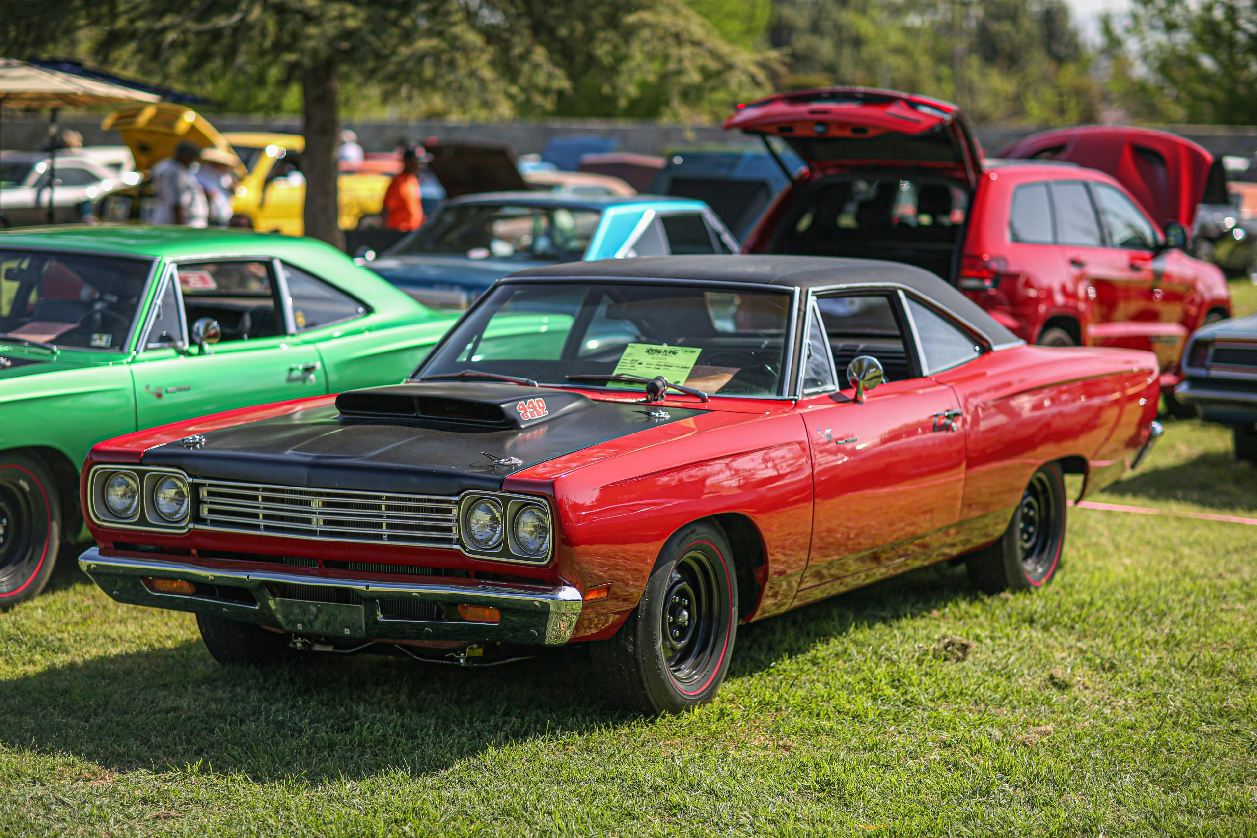 1969 Road Runner 440 Six-barrel