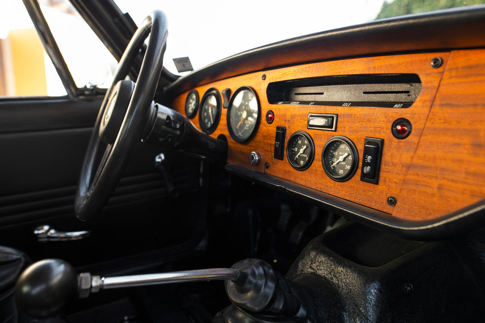 1969 Triumph GT6+ Mk II interior