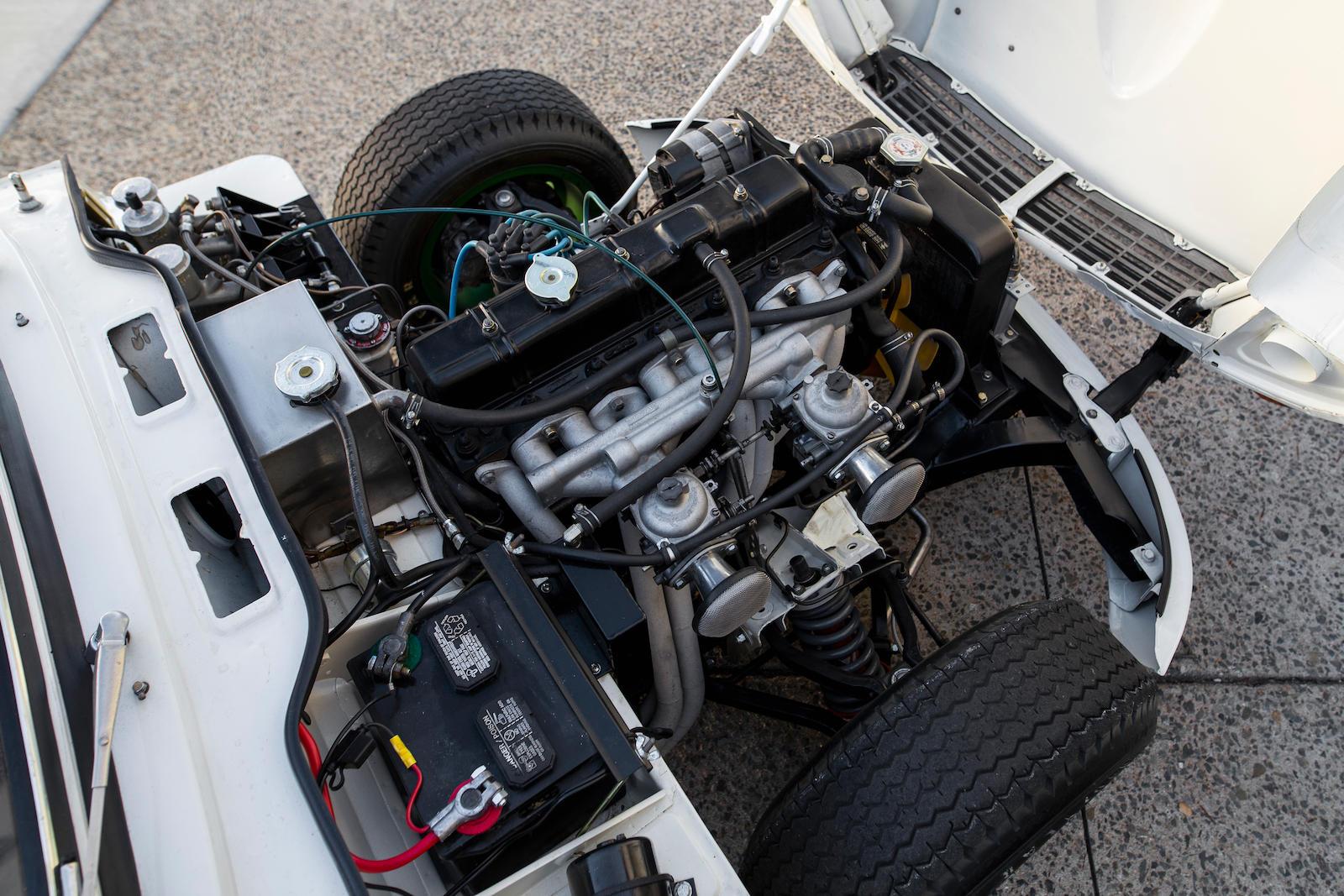 1969 Triumph GT6+ Mk II engine