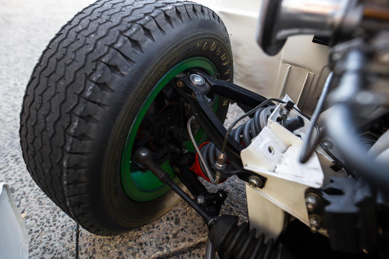1969 Triumph GT6+ Mk II suspension detail