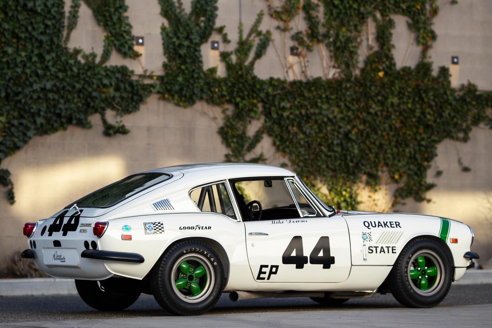 1969 Triumph GT6+ Mk II rear three-quarter