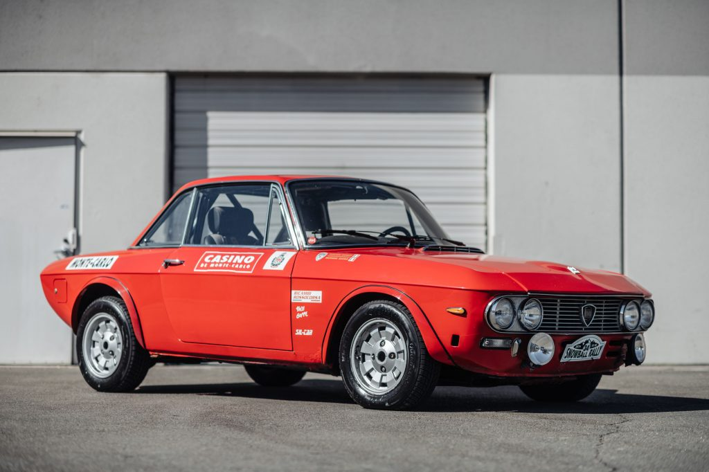 1972 Lancia Fulvia Coupe 1600 HF Series 2 Fanalino front three-quarter