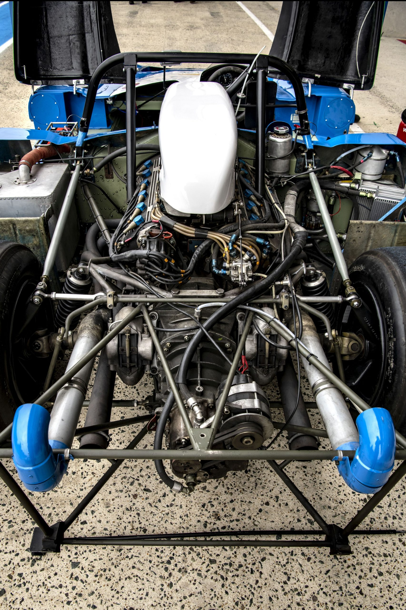 1972 Matra MS 670 rear engine chassis