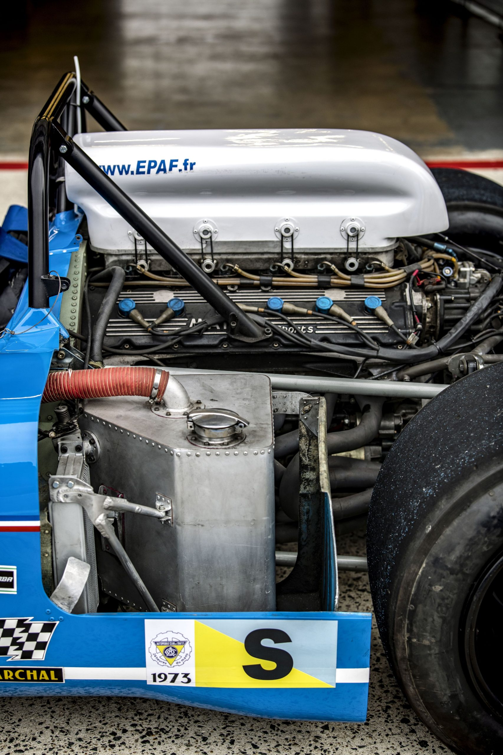 1972 Matra MS 670 engine side