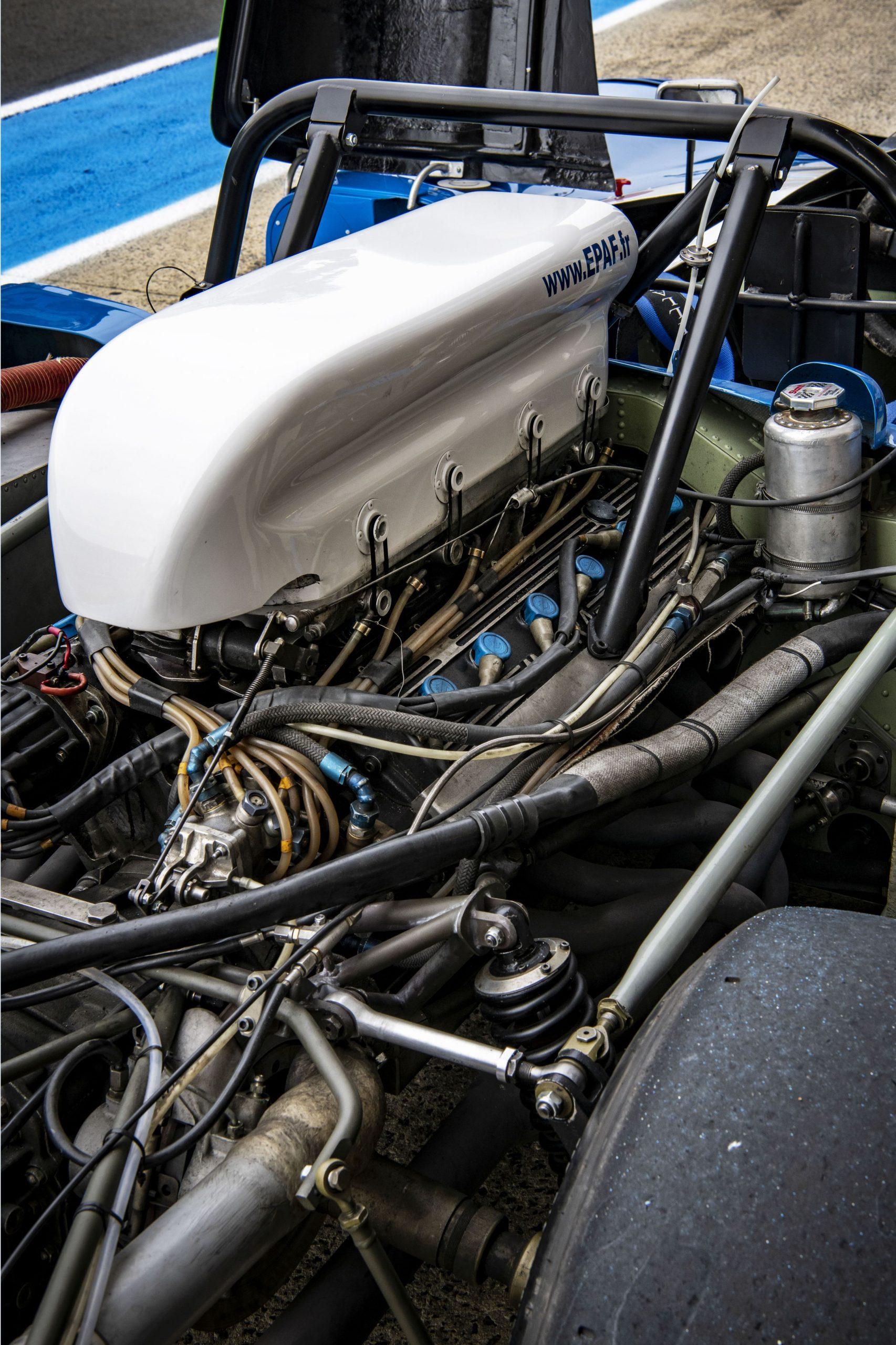 1972 Matra MS 670 engine