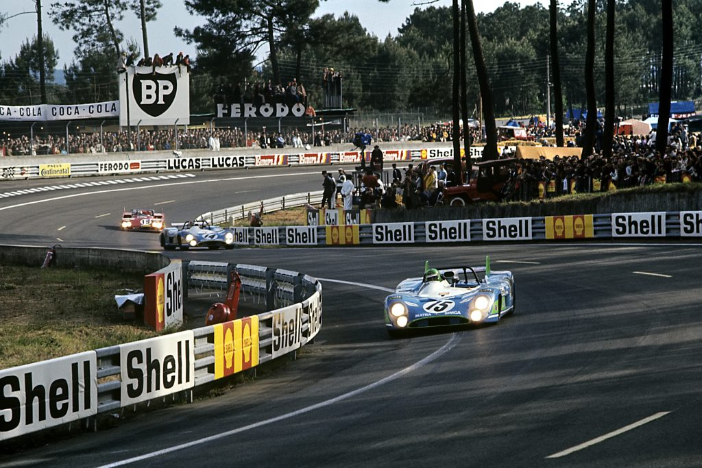1972 Matra MS 670 Henri Pescarolo 24 Hours Of Le Mans leading