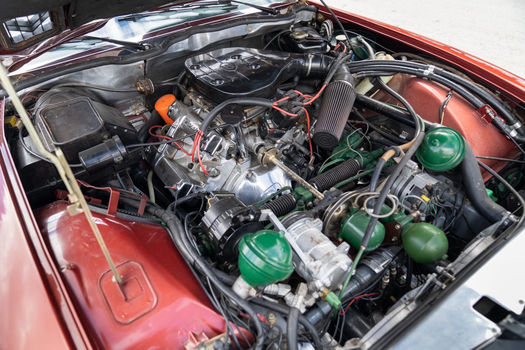 1973 Citroen SM land speed racing tow engine
