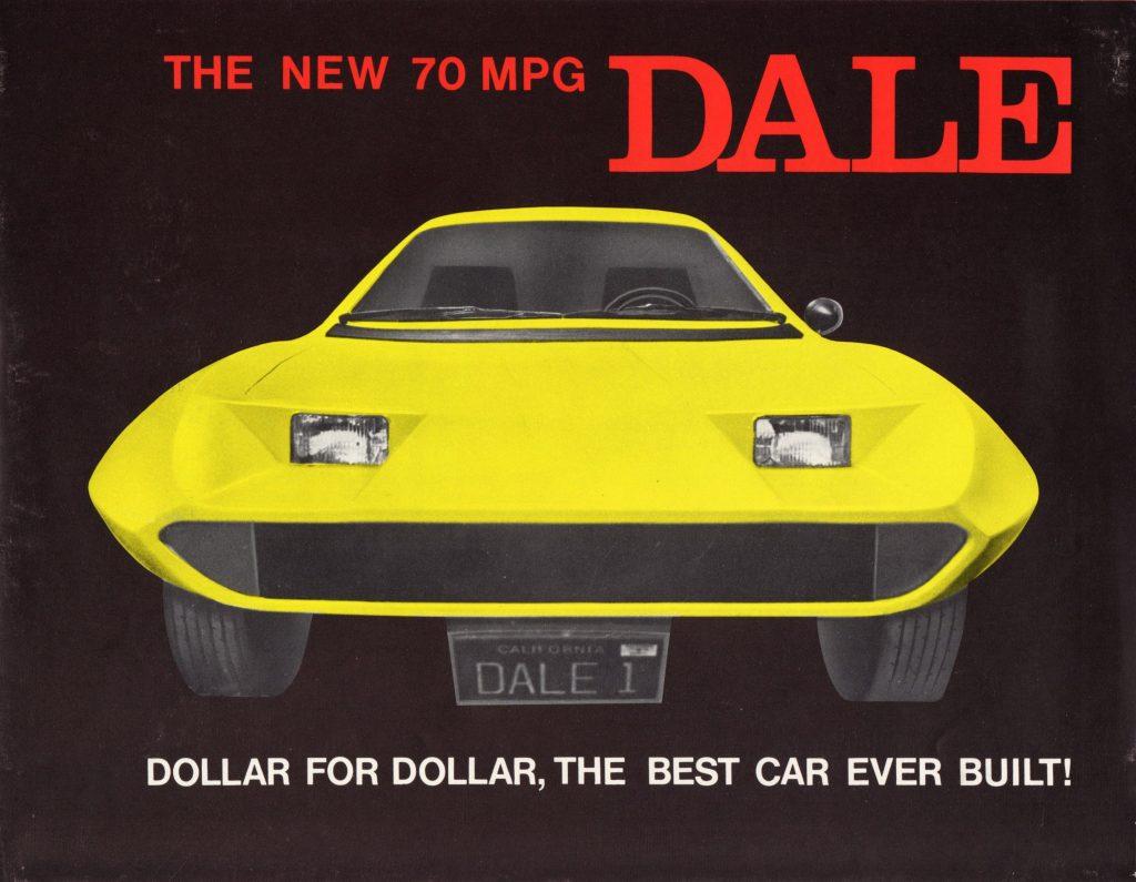 1975 Dale Three Wheel Car Brochure