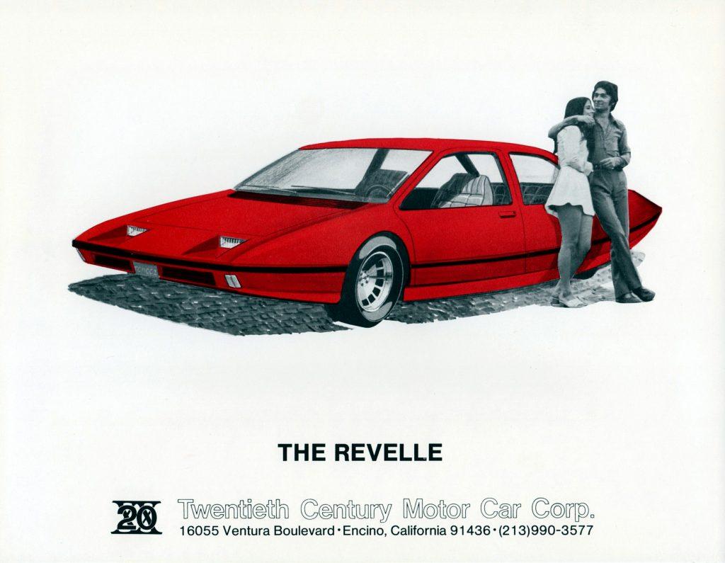 Revelle prototype concept brochure art