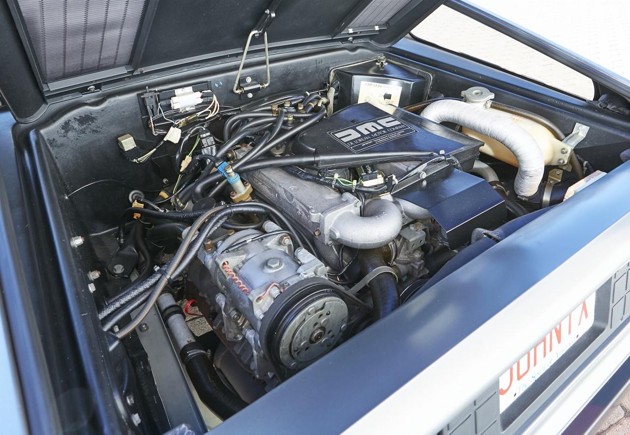 1981 DeLorean DMC-12 5-Speed engine
