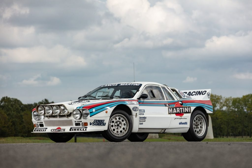 1985 Lancia Rallye front three-quarter