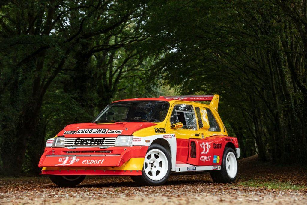 1985 MG Metrol 6R4 front three-quarter