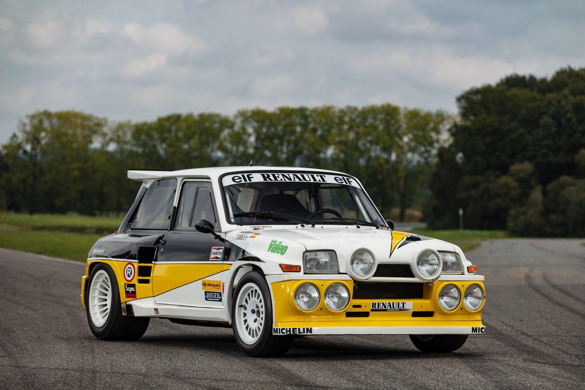 1985 Renault 5 Maxi Turbo front three-quarter