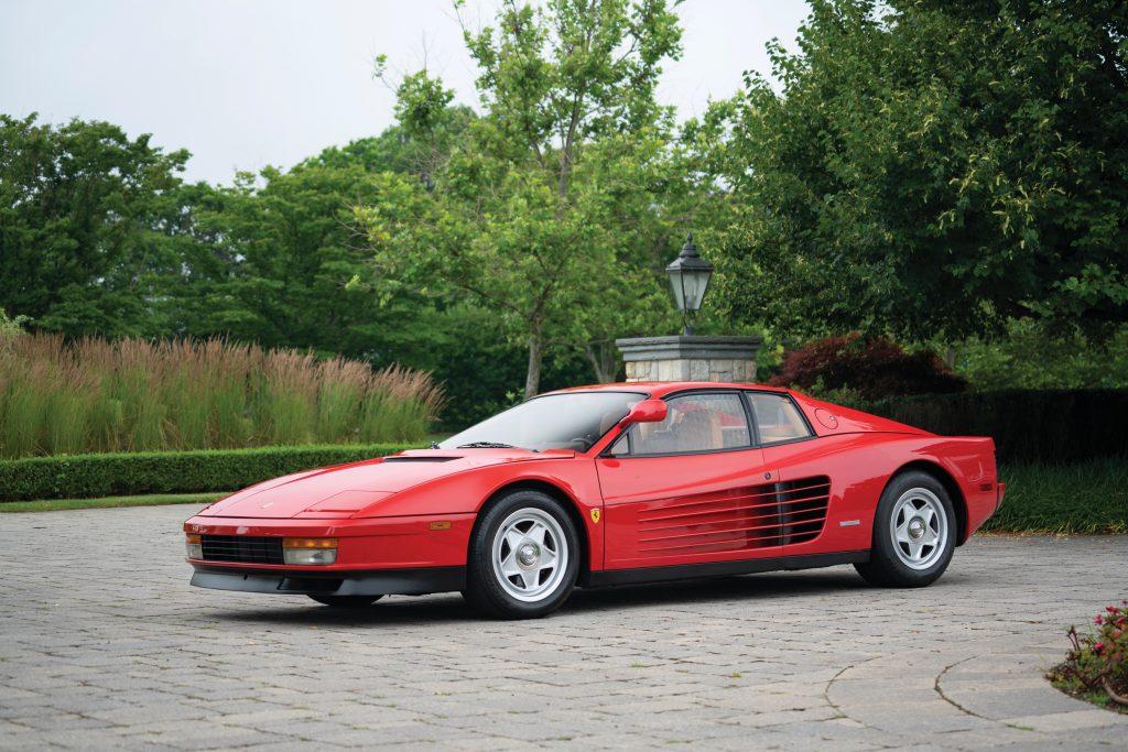 1986 Ferrari Testarossa front three-quarter