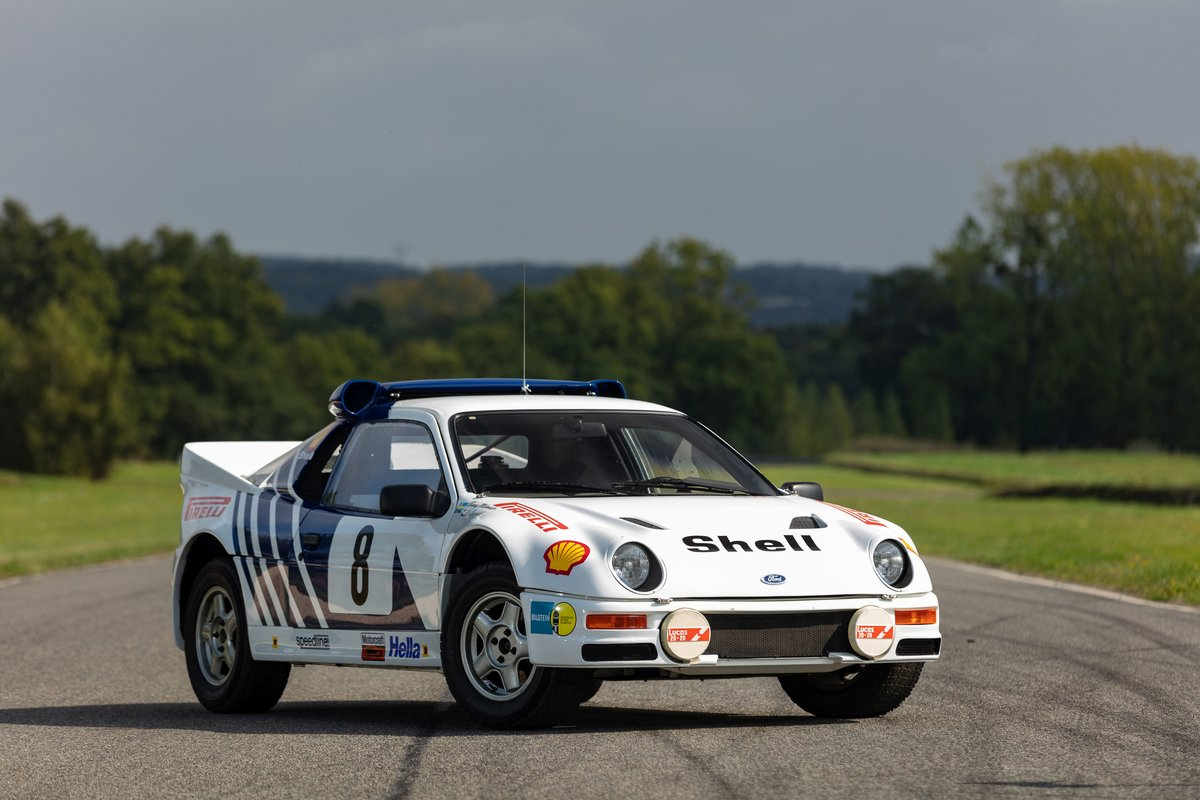1986 Ford RS200 front three-quarter