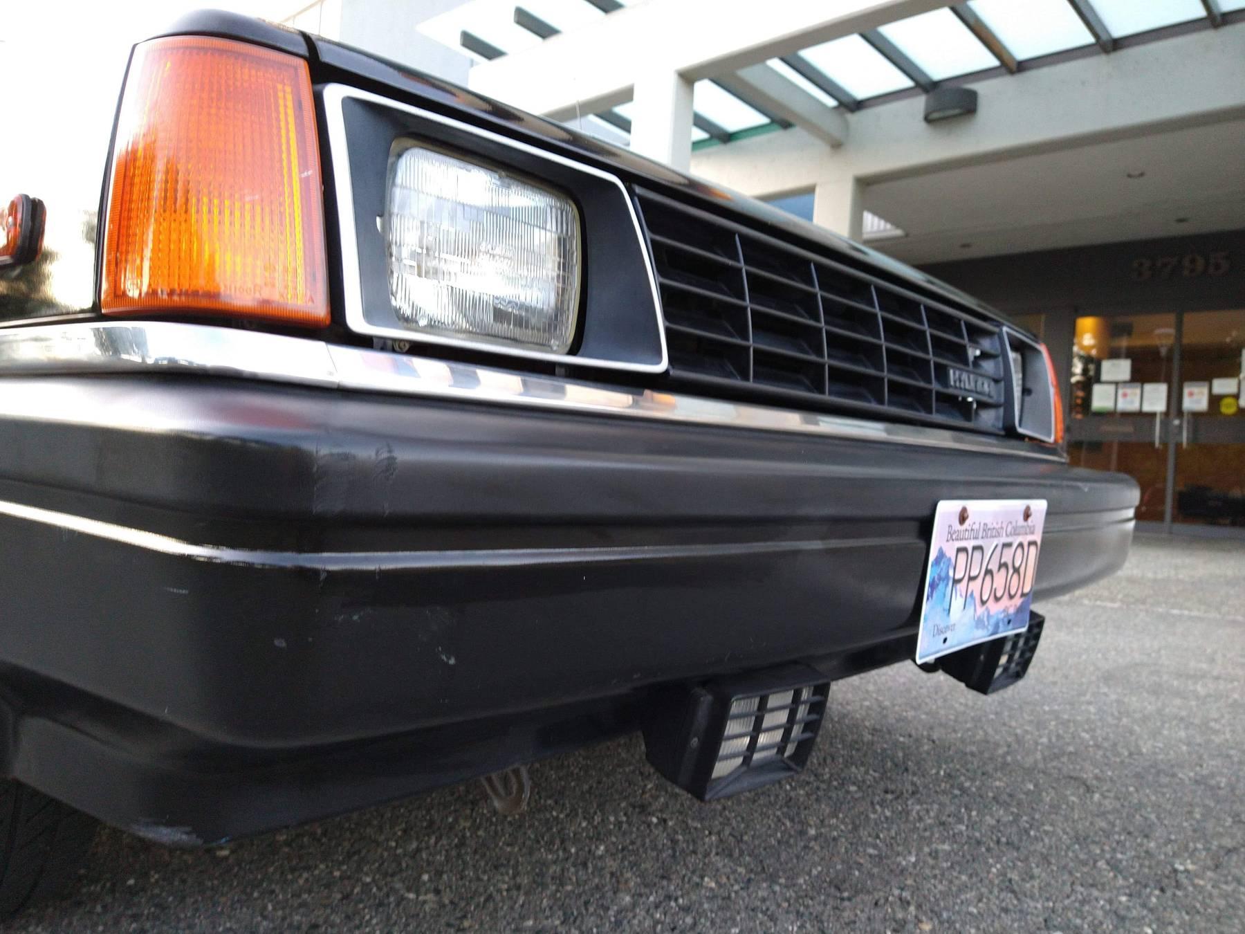 1986 Hyundai Stellar Executive front