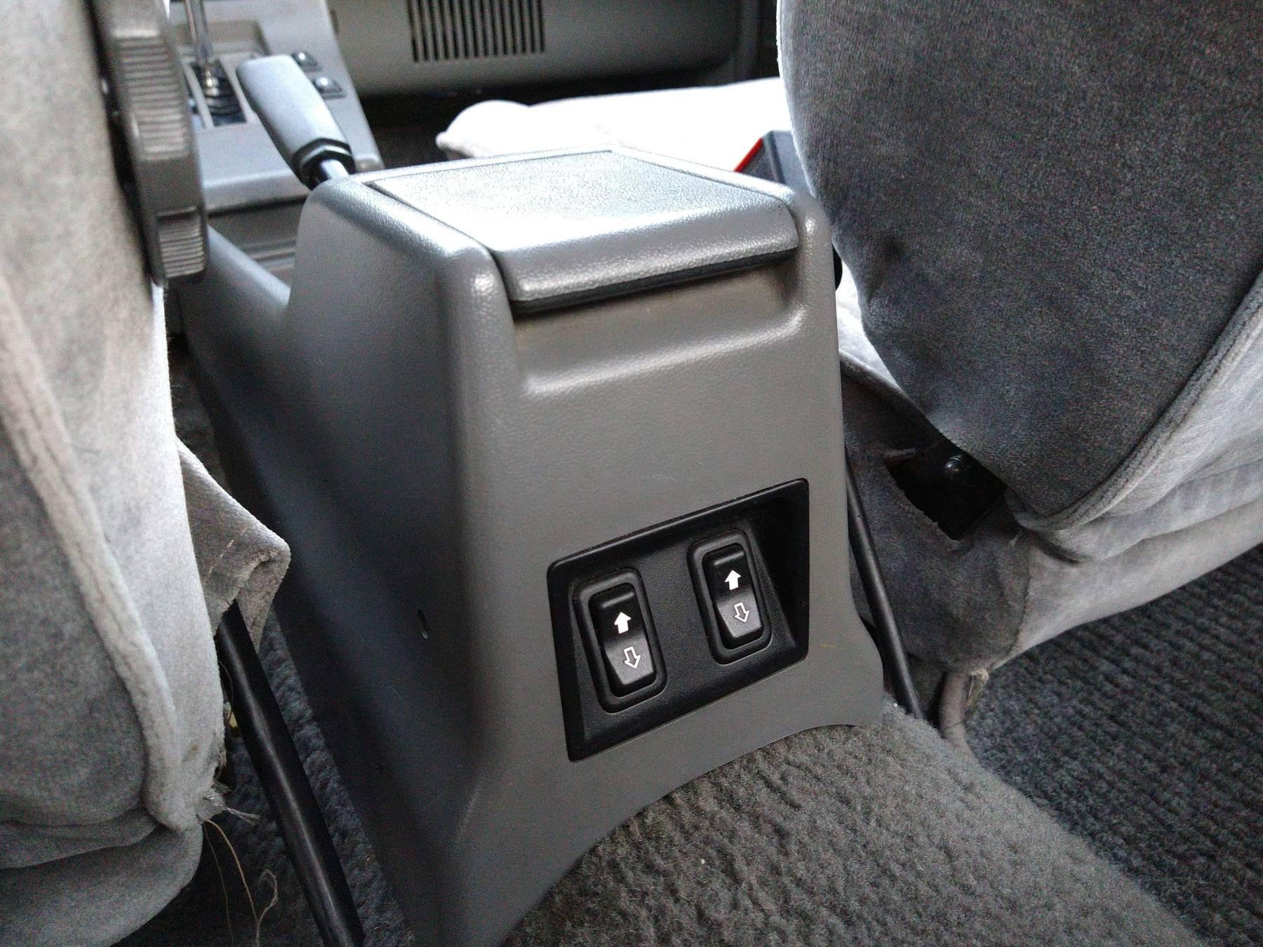 1986 Hyundai Stellar Executive center console control