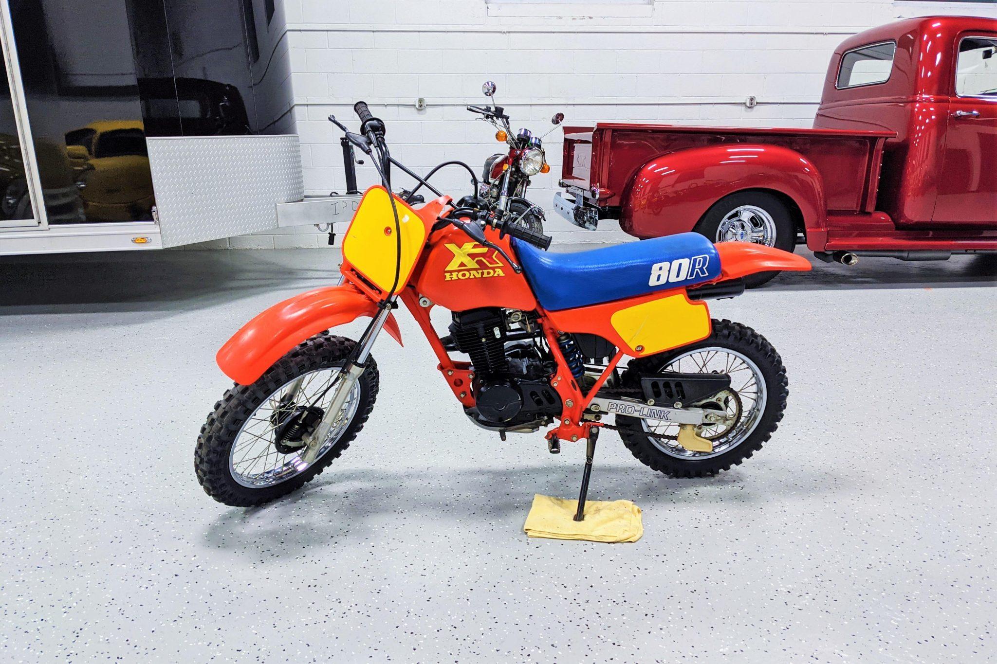 1986 Honda XR80R Bring a Trailer