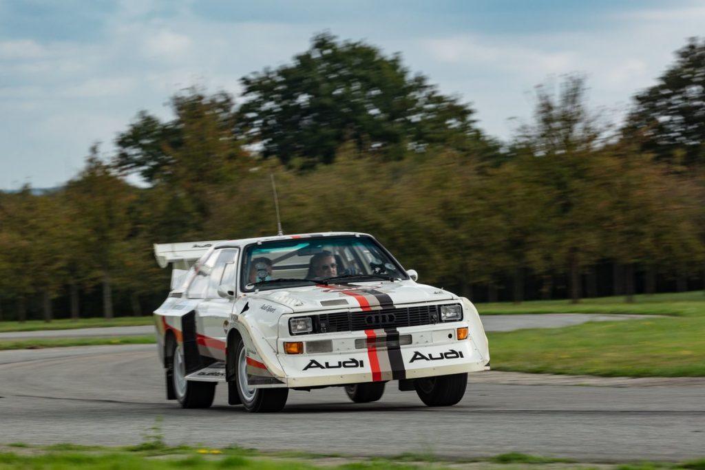 1988 Audi Quattro Sport S1 front three-quarter