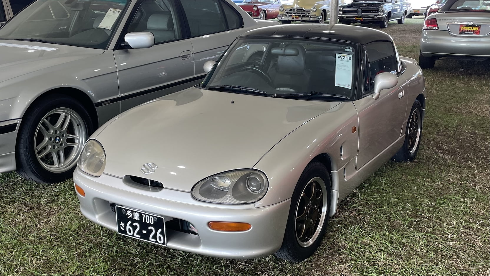 1992 Suzuki Cappucino front three-quarter