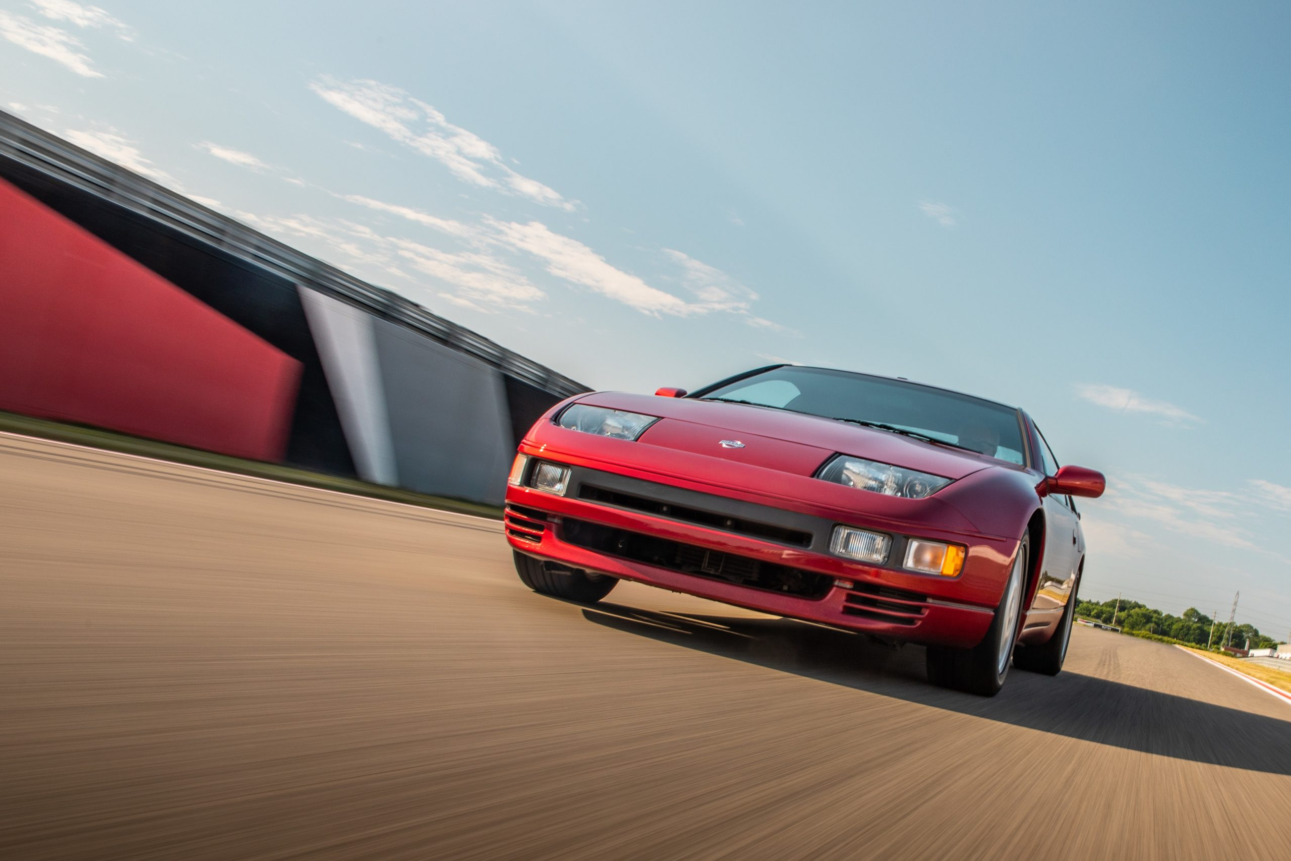 1993 Nissan 300 ZX Red