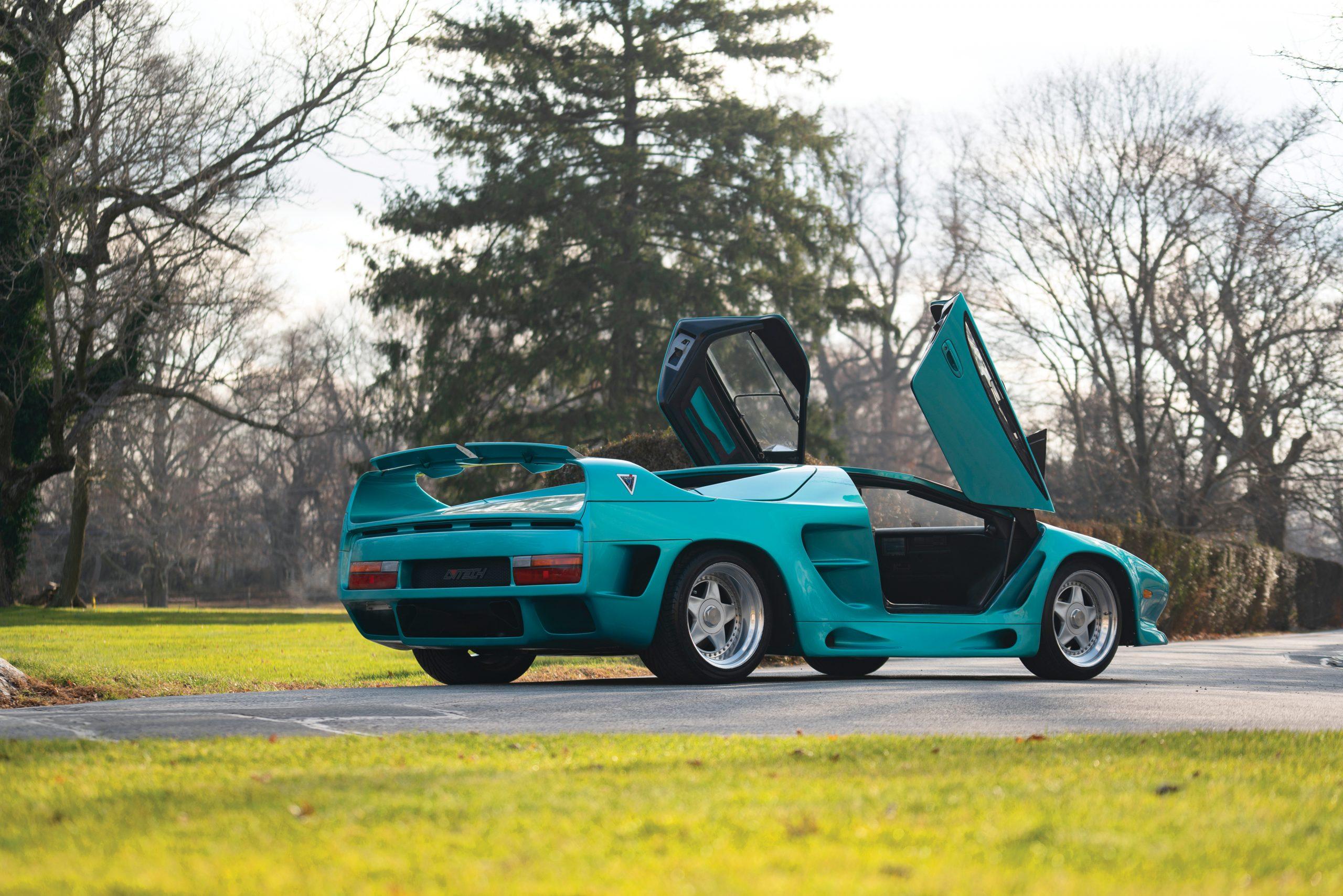 1993 Vector Avtech WX Prototype rear three-quarter