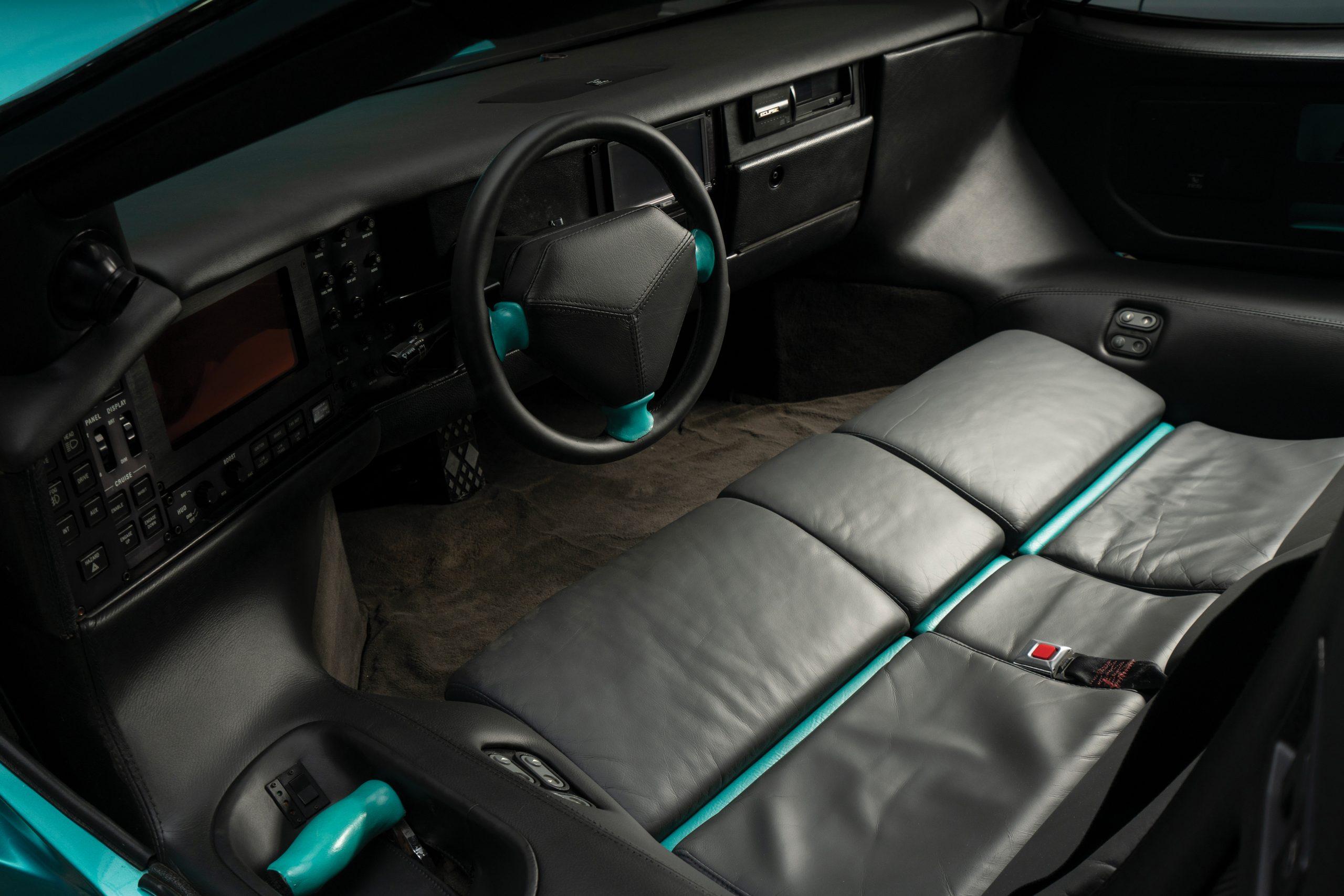 1993 Vector Avtech WX Prototype interior