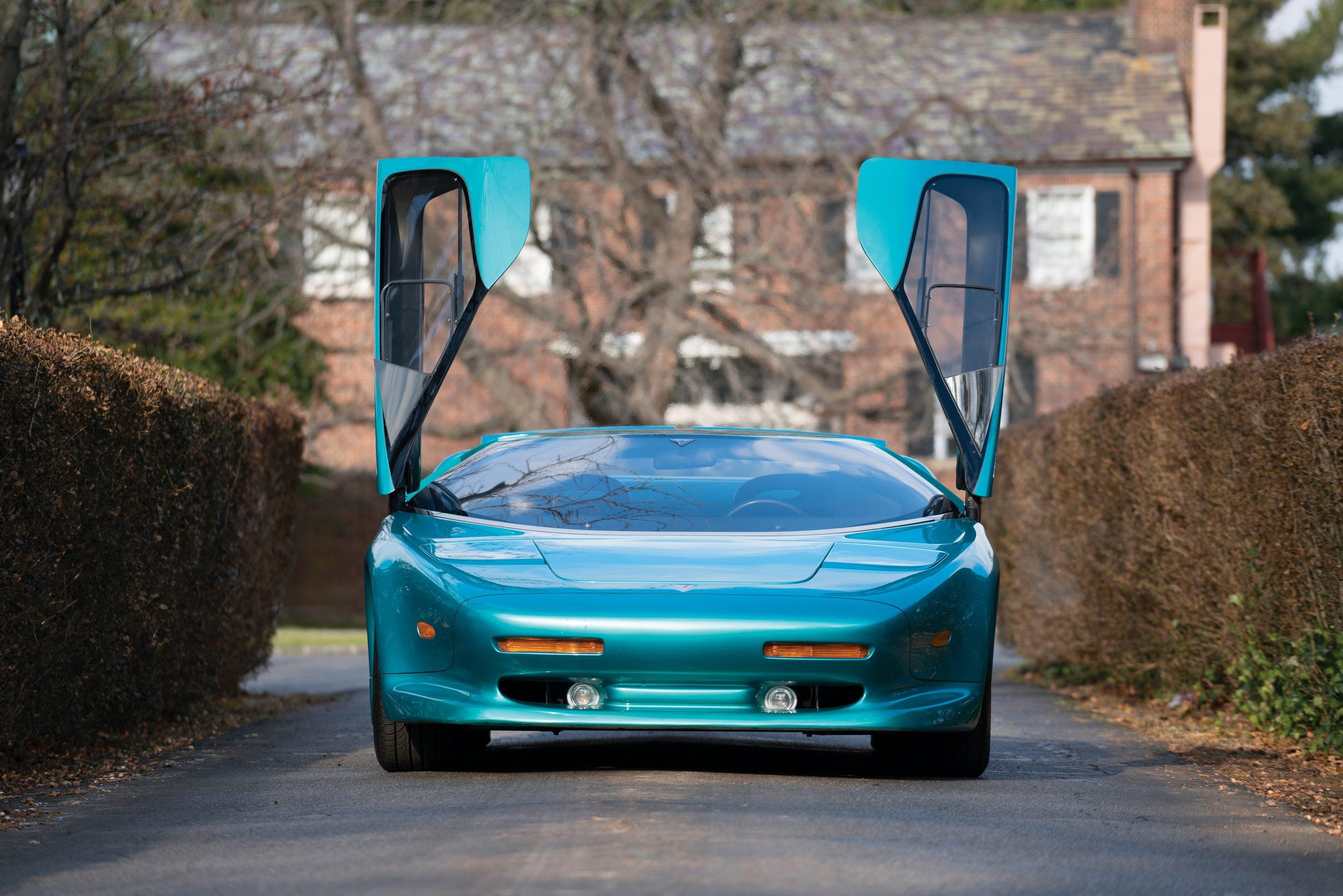 1993 Vector Avtech WX Prototype front doors up