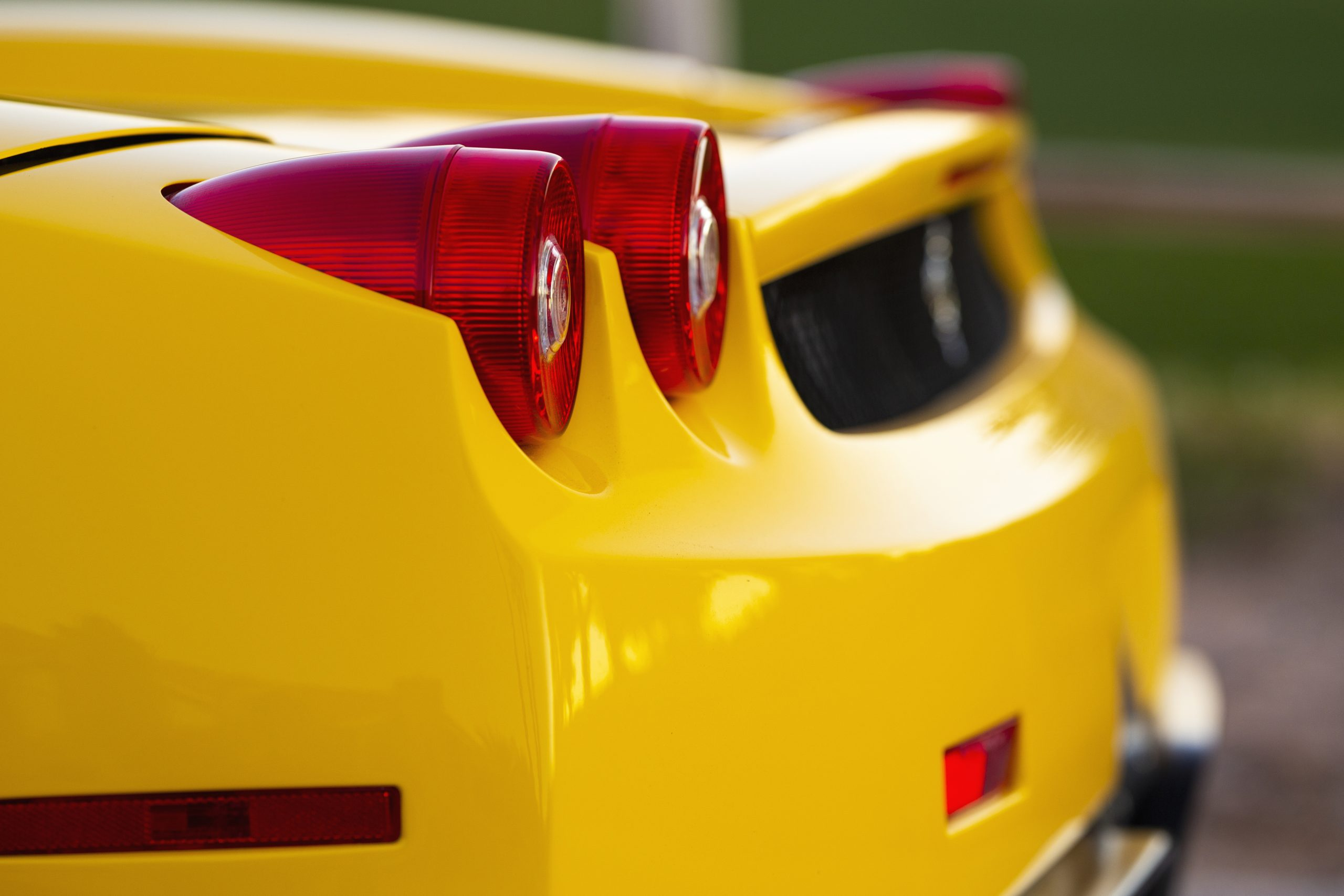 Ferrari Enzo rear taillight detail