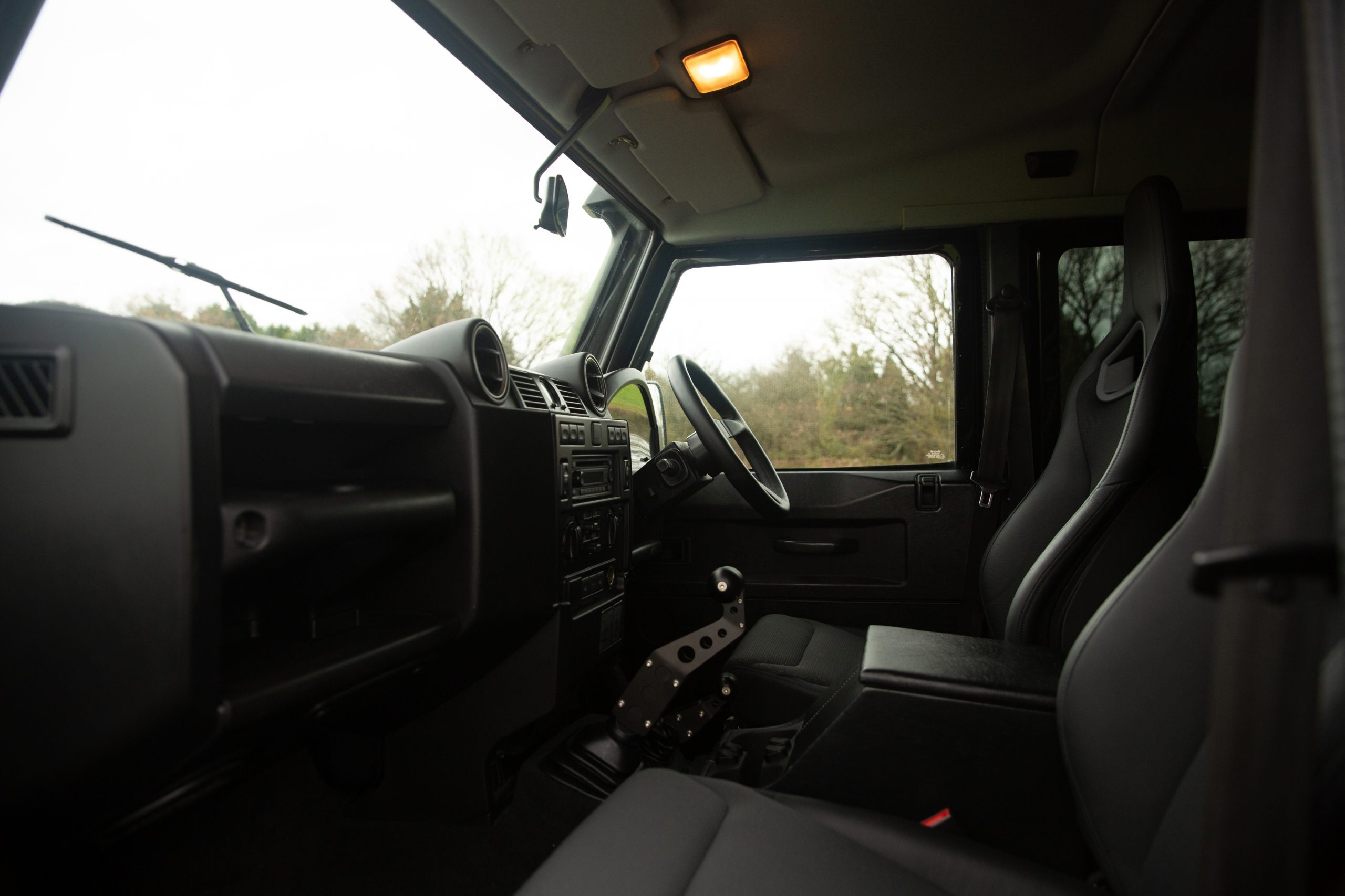 Land Rover Defender SVX Spectre interior