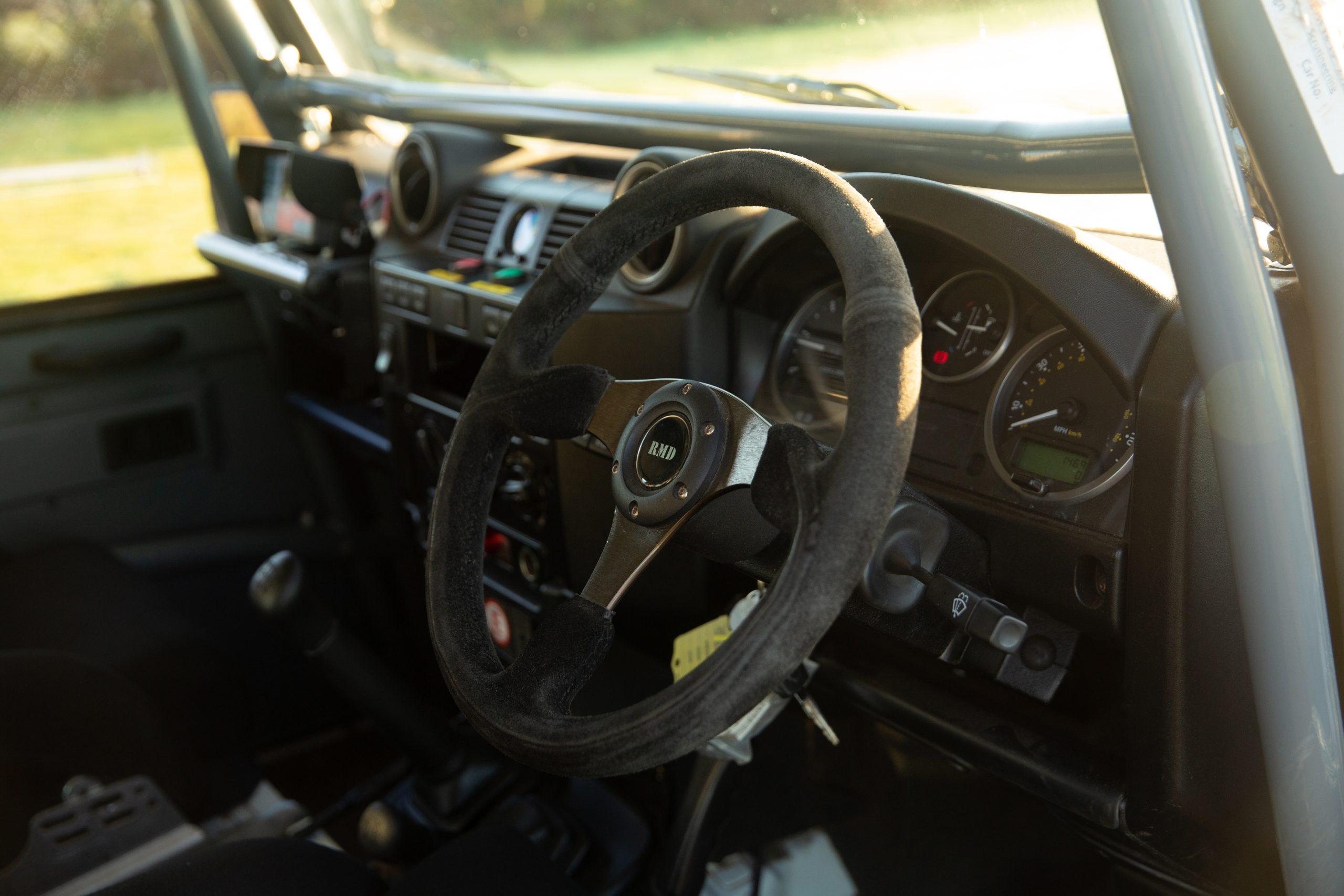 Land Rover Defender 90 Hardtop interior