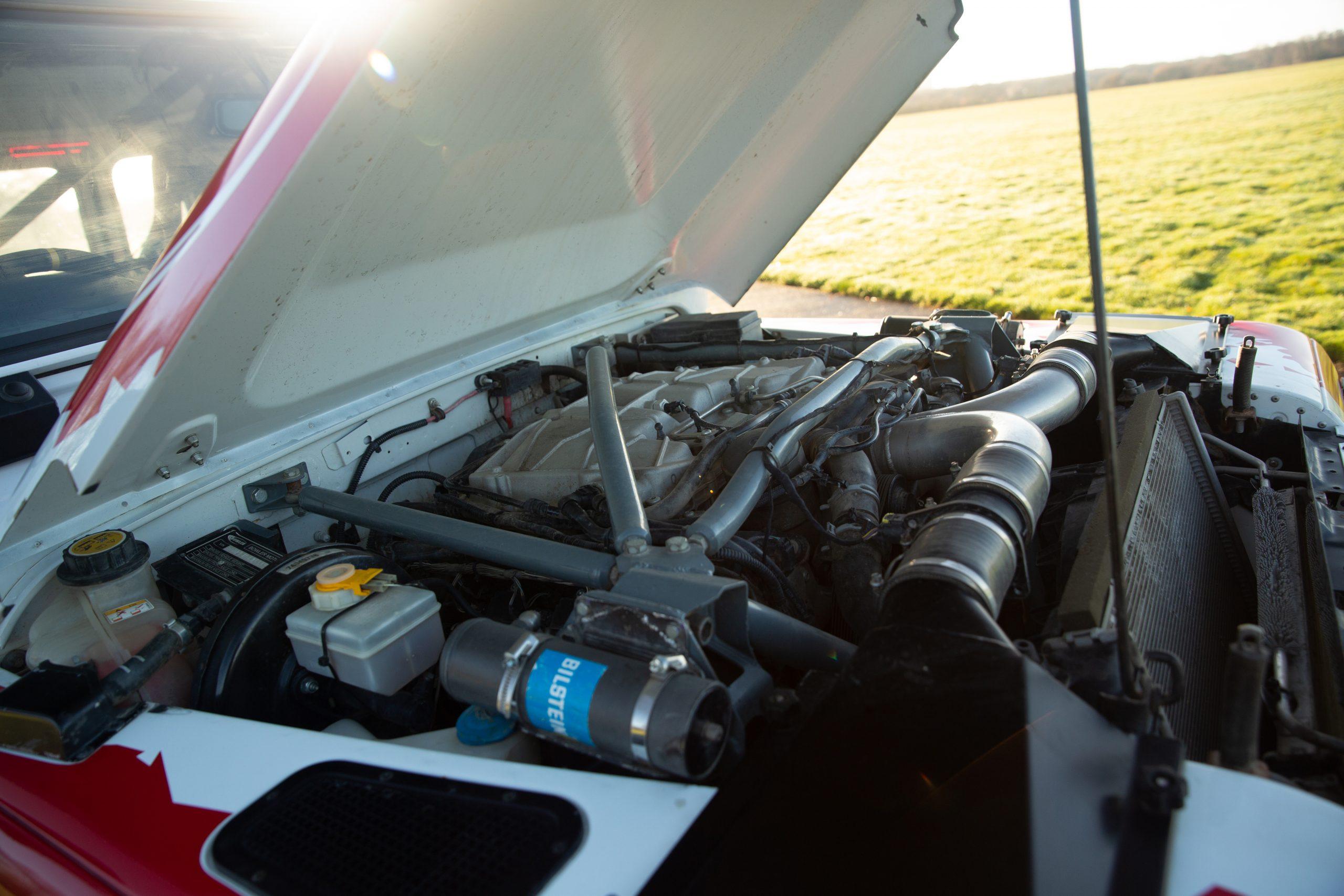 Bowler Pennine V6 110 Prototype engine