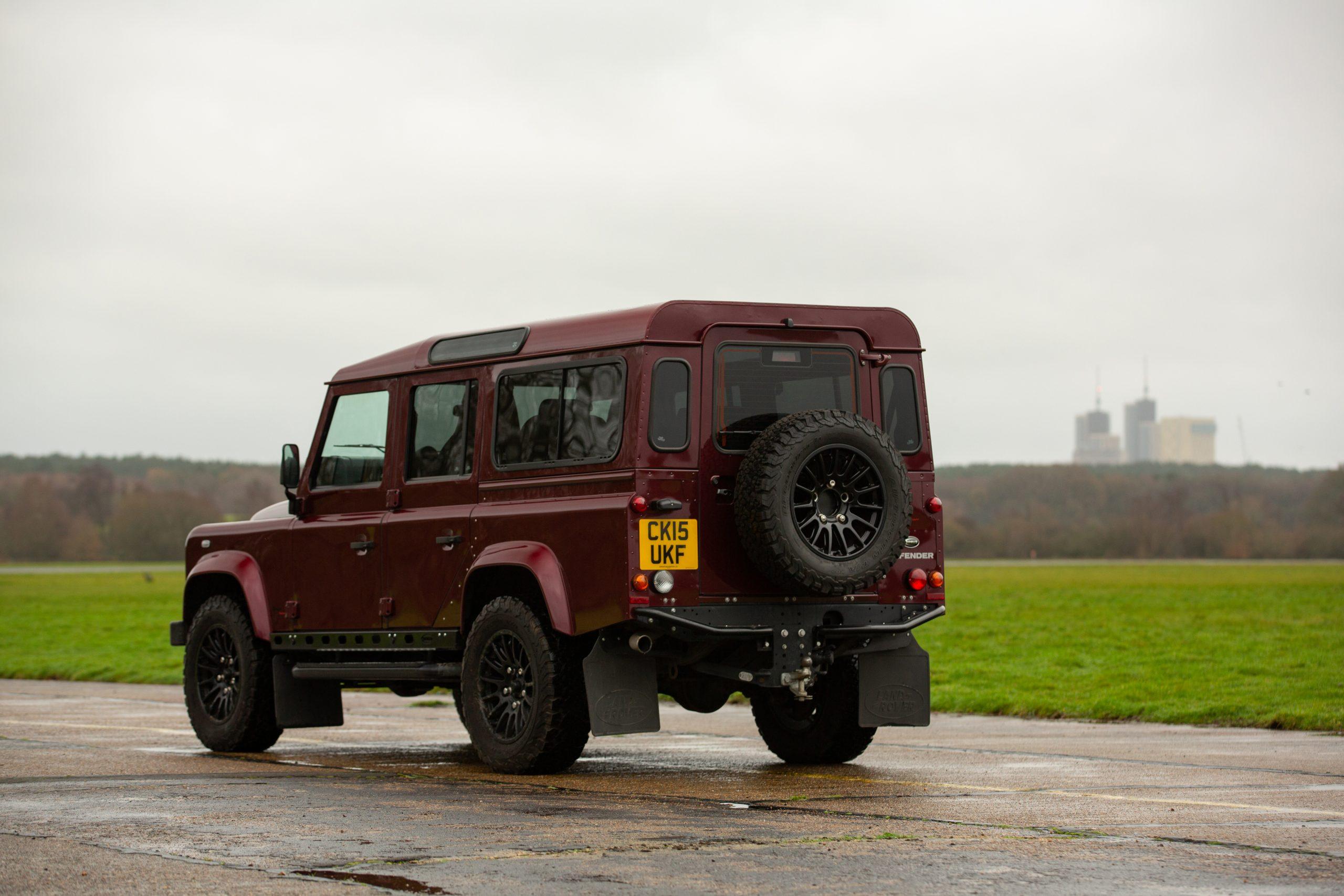 Land Rover Defender 110 Landmark XS rear three-quarter