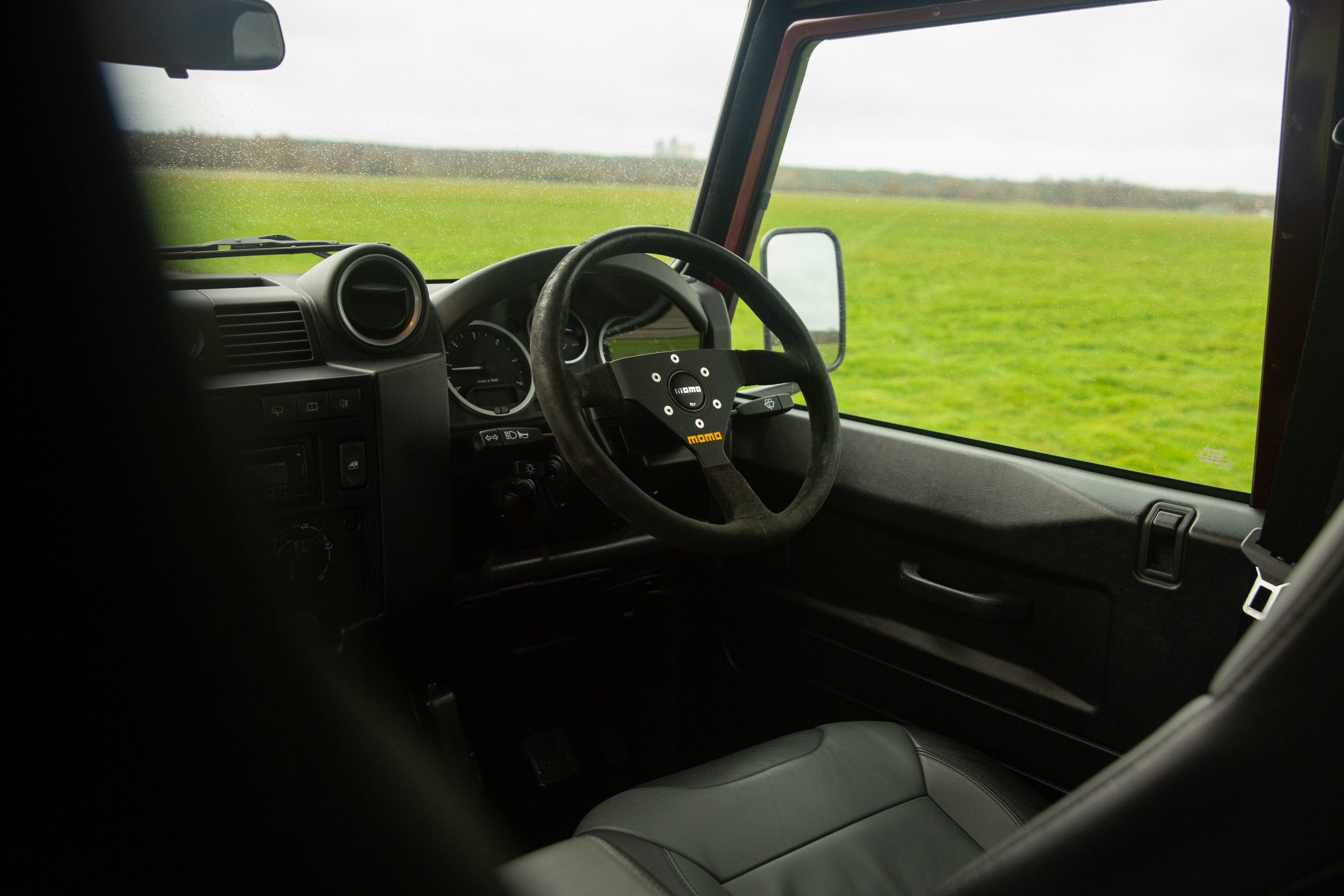 Land Rover Defender 110 Landmark XS interior